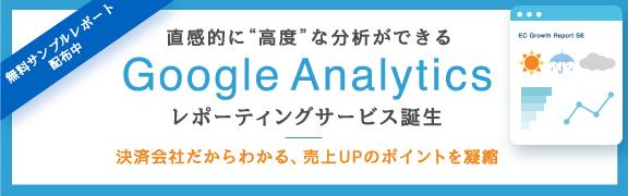Google-Analyticsレポーティングサービス